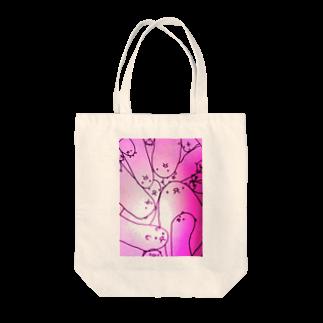 はたまた、この店ハムスターの腸壁のはむ、毛々さん おピンク Tote bags