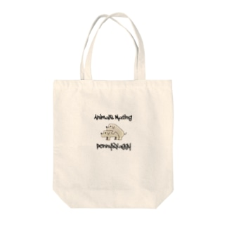 Dogs  Mating(犬の交尾) Tote bags