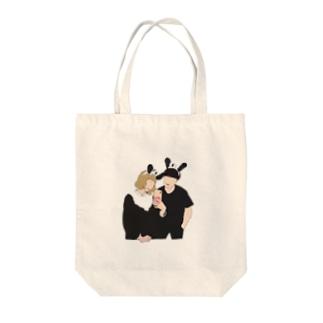 ちょこびトートバッグ Tote bags