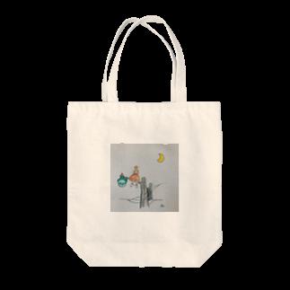 あかね2の三日月 Tote bags