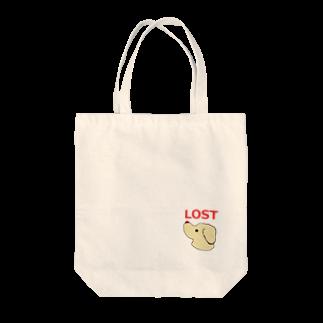 アメリカンベースの迷子 Tote bags
