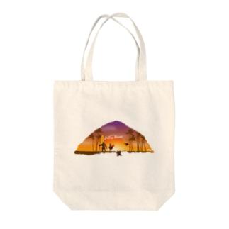 Endless Hawaii Tote bags