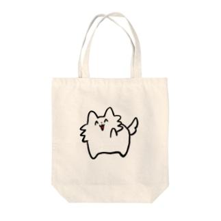わんわんお Tote bags