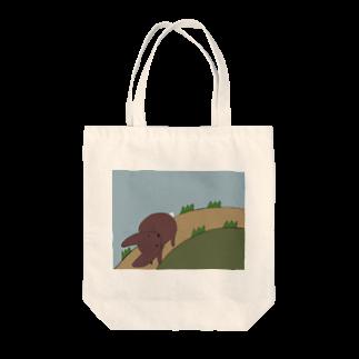 Atomatomのうさぎのさんぽみち Tote bags