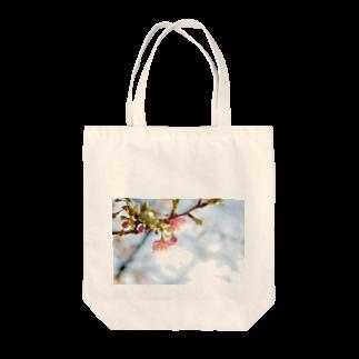 はち / きまぐれハチログの桜 Tote bags