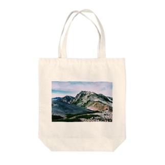 白馬岳 Tote bags