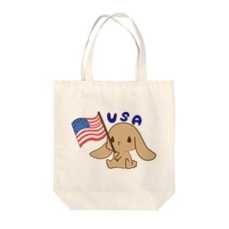 USAぎ Tote bags