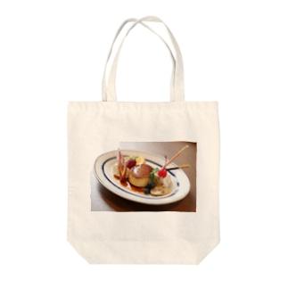 プリンアラモード Tote bags