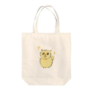 毛玉犬 Tote bags