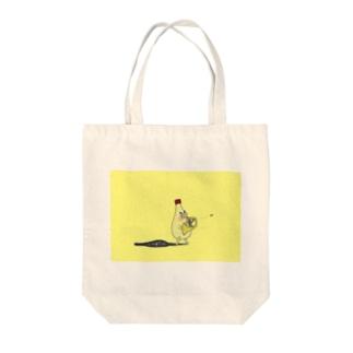 マヨホルン Tote bags