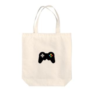 GameController black Tote bags