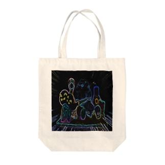 エゴイズムアートなトートバッグ Tote bags