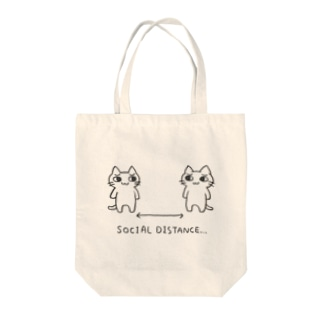 SOCIAL DISTANCE... Tote bags