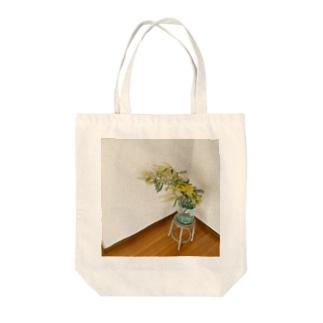 実家のミモザ Tote bags