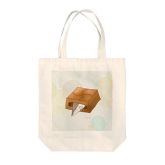 不思議チロル Tote bags