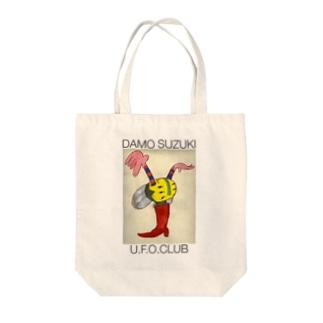 ダモ鈴木(ex.CAN) x U.F.O.CLUBオリジナルトートバッグ Tote bags