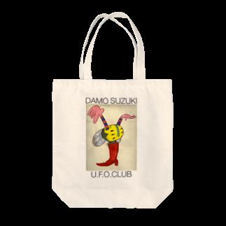 東高円寺U.F.O.CLUB webshopのダモ鈴木(ex.CAN) x U.F.O.CLUBオリジナルトートバッグ Tote bags
