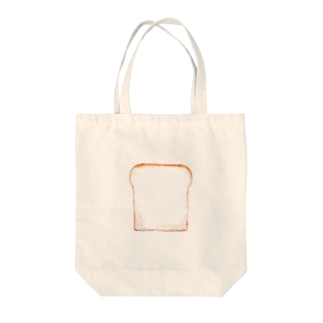 懐かしの食パン Tote bags