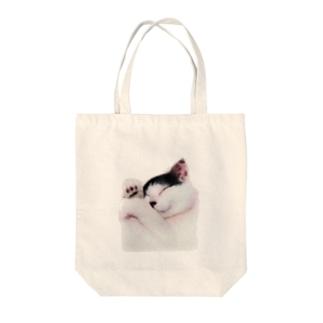 にゃん太 Tote bags