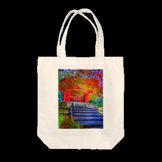 kohtaro_kyotoaboutの秋の東福寺 Tote bags