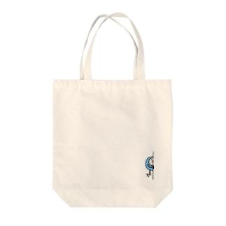 ちらりまるお Tote bags