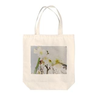 TOKIMEKIFLOWER白梅花 Tote bags