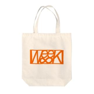 We∞eKトートバック(ロゴ) Tote bags