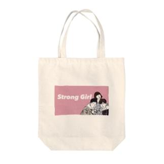 韓国ドラマ 力の強いトボンスン風 Tote bags