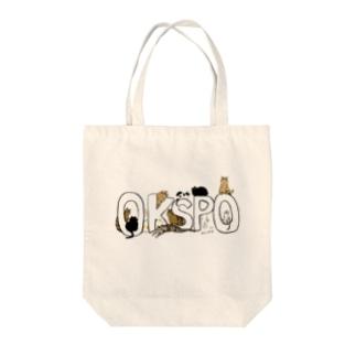 桶川猫のみなさん Tote bags