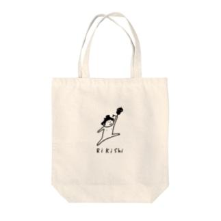 大相撲 力士と軍配 Tote bags