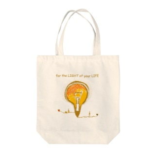 for the LIGHT of your LIFE Tote bags