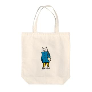 コート猫の散歩 Tote Bag