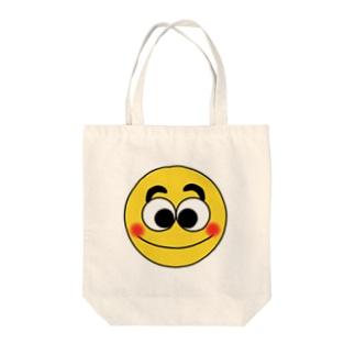 スマイリー君 Tote bags