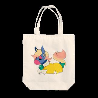 celloのフランケン・ロバ Tote bags