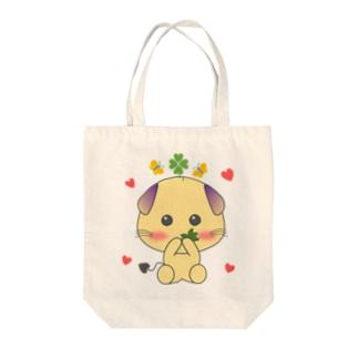 【ピグ・モ】お食事中! Tote bags