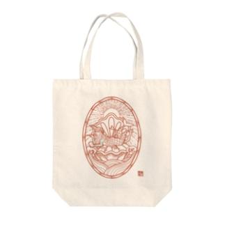 AMBIE 朱 Tote bags