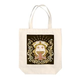 デリーアマビエ Tote bags