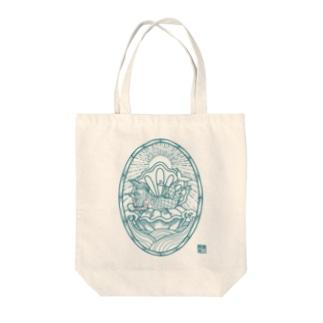 AMABIE 碧 Tote bags