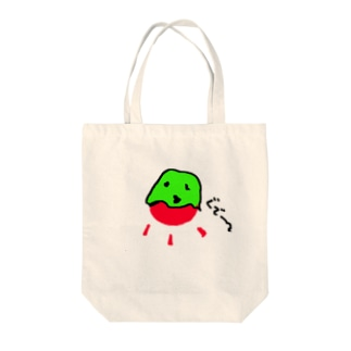 summer(さまー)in 太陽 Tote bags