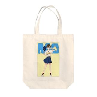 5月のパン女 Tote bags