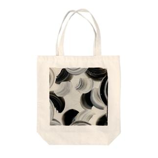 黒縄 Tote bags