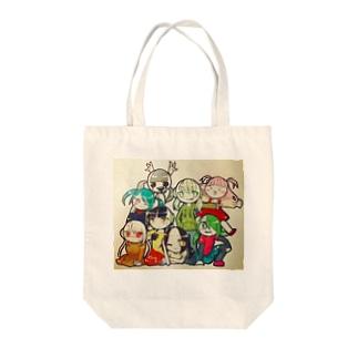 作者さんず Tote bags
