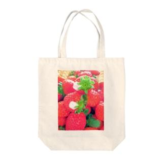 花びらいちごA Tote bags