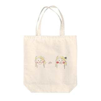 そばかす Tote bags