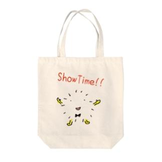 ケサランくんのshowtime!! Tote bags