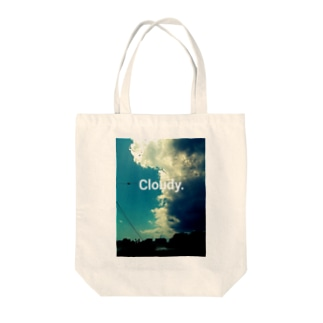 Cloudy. Tote bags