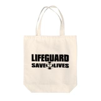 AURA_HYSTERICAのLIFEGUARD Tote bags