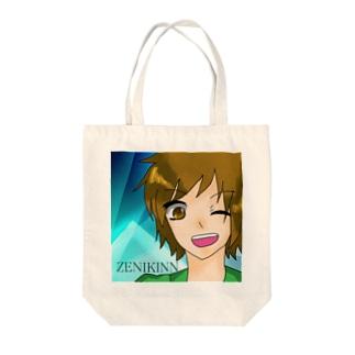 ZENIKINNアイコン Tote bags