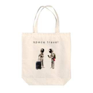 宇宙旅行 Tote bags
