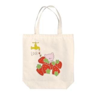 蛇口から苺 Tote bags